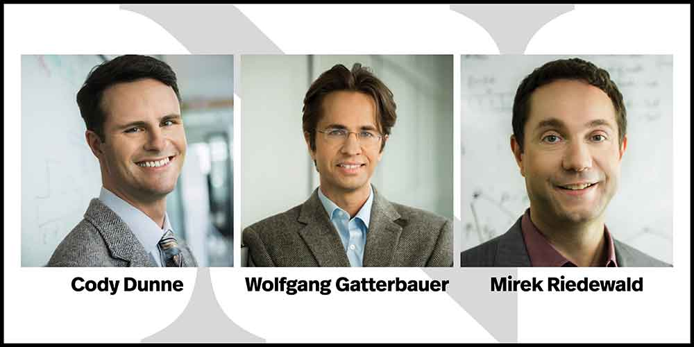 Cody Dunne, Wolfgang Gatterbauer, Mirek Riedewald