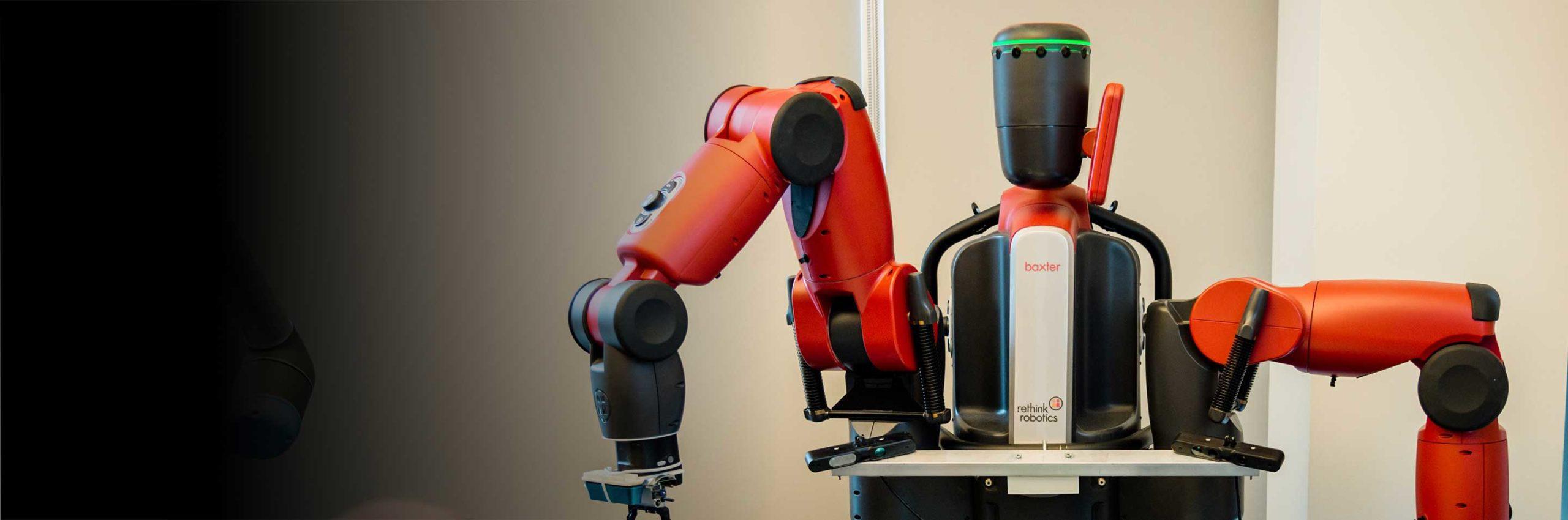 a robot in a Northeastern lab