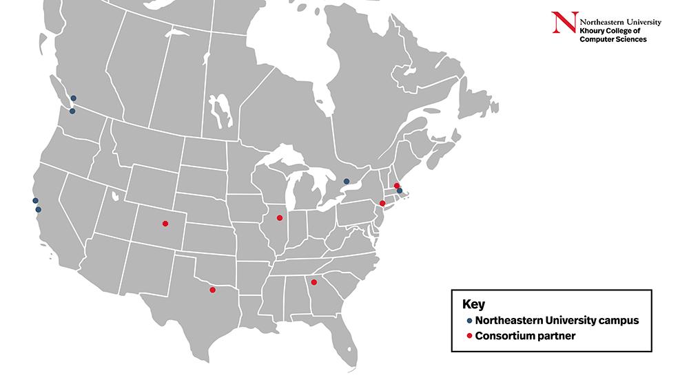 The Align consortium map