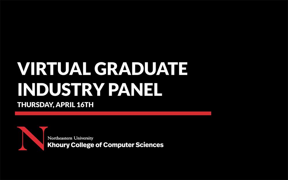 Virtual Graduate Industry Panel banner