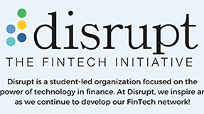 logo of disrupt, a financial tech student group