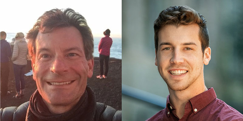 Photos provided by Greg Waters (left) and Casey Knox (right).