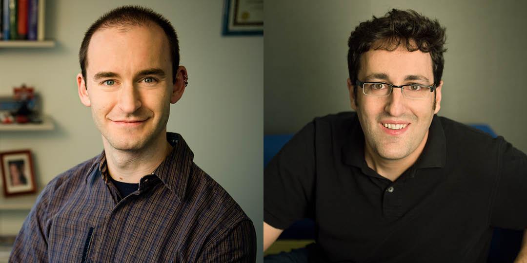 Christo Wilson (left) and Daniel Wichs (right)