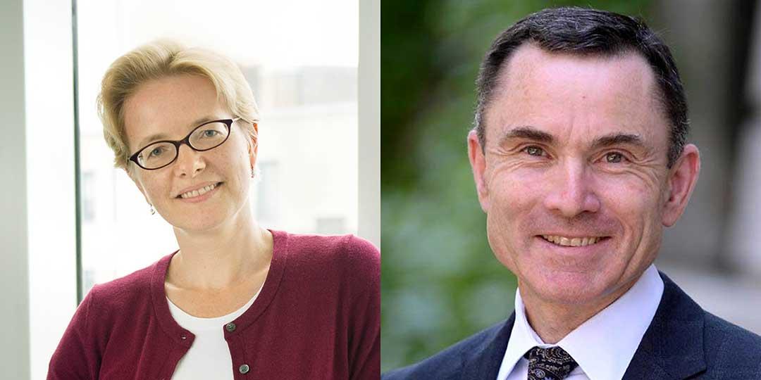 Olga Vitek (left) and David Madigan (right)