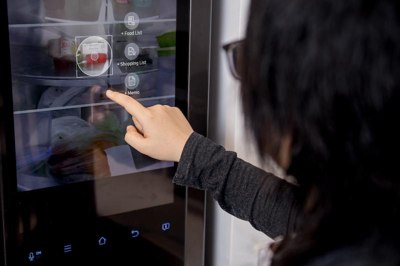 Smart fridge in the CPI lab